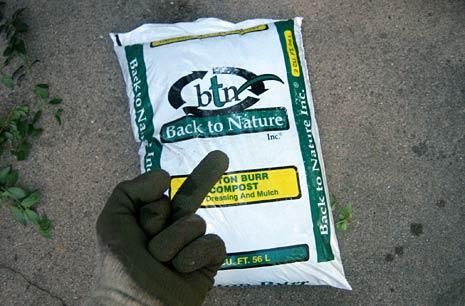 Cotton Burr Compost Mulch