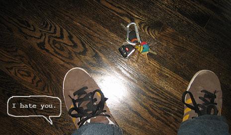 Stupid Keys, I hate you!