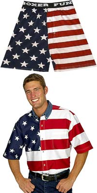 amercian flag clothing