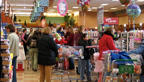 "an analysis of the checkout line at the grocery store News summary crime news gov't & politics ideas & voices i-team  the  cincinnati-headquartered grocery chain will roll out its ""scan, bag, go""   shoppers can avoid long checkout lines by scanning barcodes of items they   kroger then launched it in an additional 15 stores in 2015, including stores."