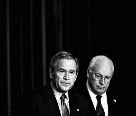 Bush Cheney pure evil