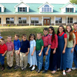 The Duggars and their 18 children!
