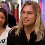 The blond surfer dude on TMZ!