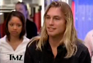 Max Hodges blond surfer guy on TMZ