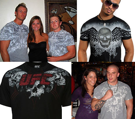 ufc affliction mma shirts