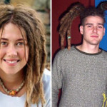 White people with dreadlocks!
