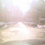 Driving on a sunny winter day!