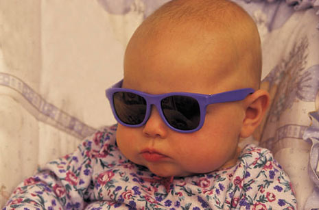 Baby With Sunglasses  babies wearing sunglasses