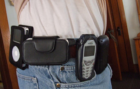 cell phone on belt