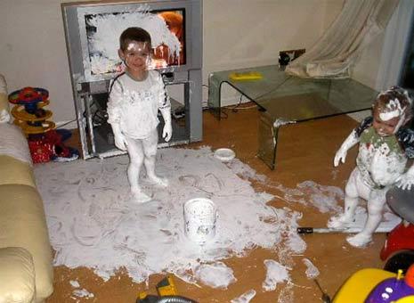 kids paint tv
