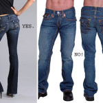 Men's jeans with pocket flaps!