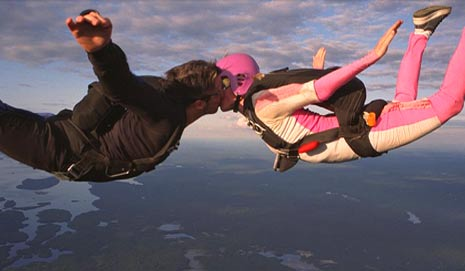 skydive wedding