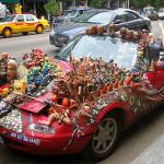 """Art"" cars!"