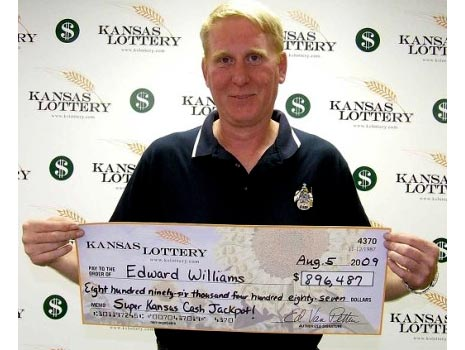 edward williams kansas lottery winner