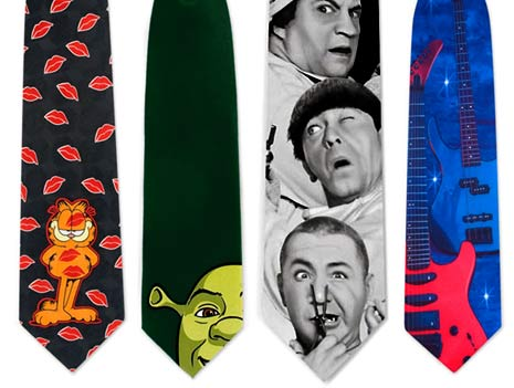 novelty neck ties