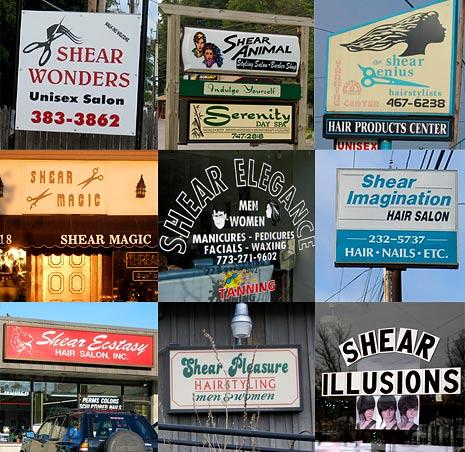 shear hair salons