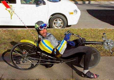 recumbent bike dork