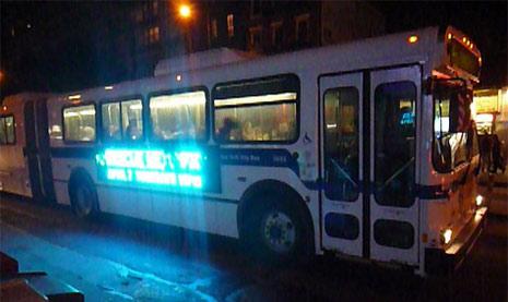 led digital bus ad
