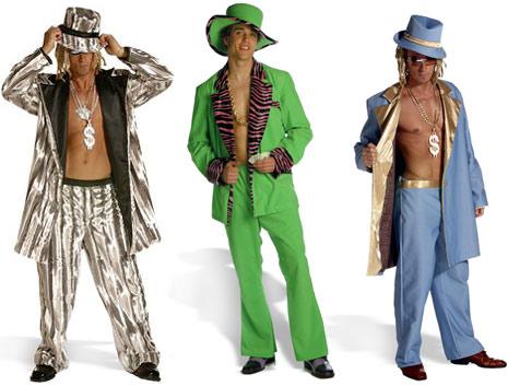 pimp halloween costumes