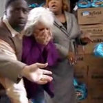 BREAKING NEWS: Paula Deen eats a ham! Sort of.