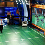 Football shows with mini football fields!