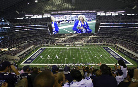 dallas cowboys big screen