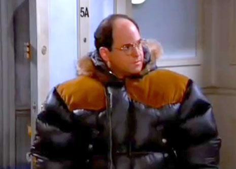 seinfeld george puffy coat
