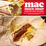 McDonald's Big Mac Snack Wrap!