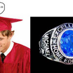 Homeschool class rings and diplomas!