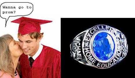 Home School Class Rings & Diplomas