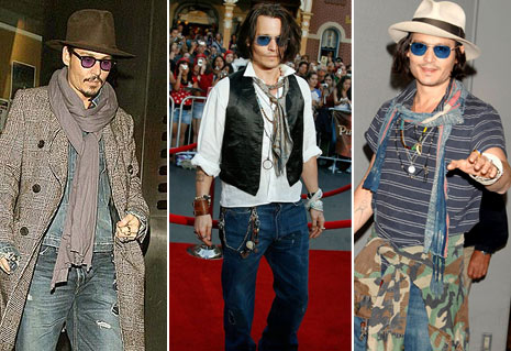 Johnny Depp's bad clothes