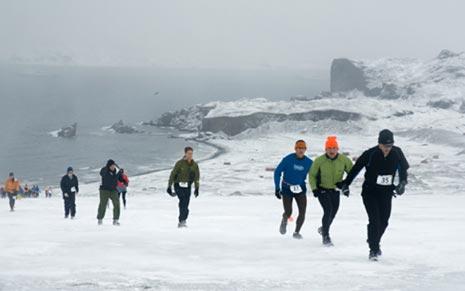 Marathon in Antarctica