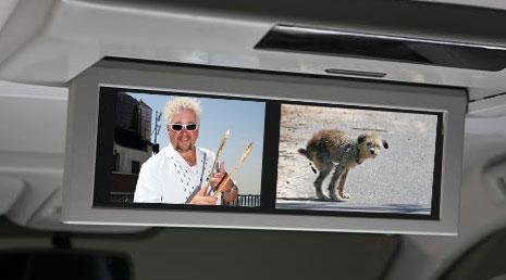 Toyota Sienna Dula View TV