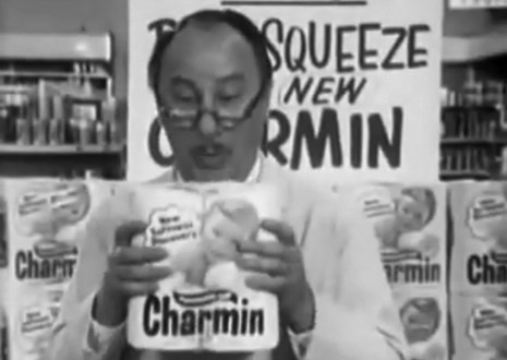 Mr. Whipple don't squeeze the Charmin