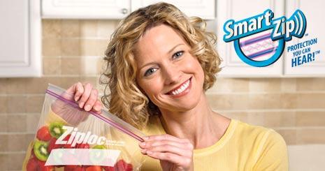 ziploc smart zip commercial