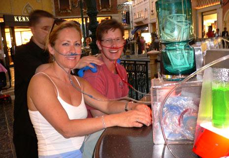 Breathe oxygen bar Las Vegas