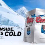 Coors Light cold activated window!
