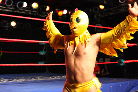 lil chicken luchador