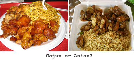 cajun or asian food court