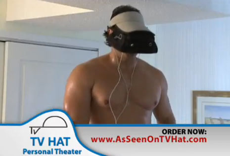 tv hat infomercial