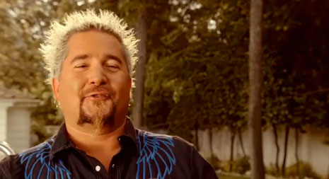 guy fieri new annoying aflac commercial douchebag
