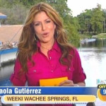 Spanish speaking news reporters who have the nerve to pronounce their own names correctly!