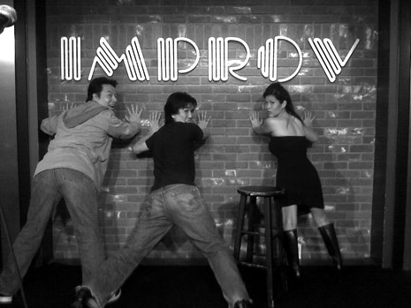 comedy improv group photo