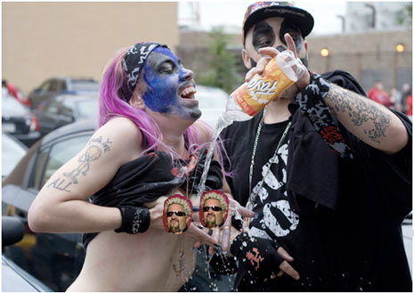 juggalos tits boobs flashing ICP