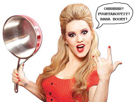 Nadia Giosia nude, Nadia G. topless, bitchin kitchen