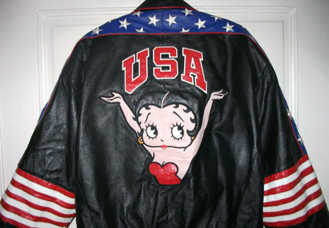betty boop leather jackets, betty boop clothes, betty boop clothing