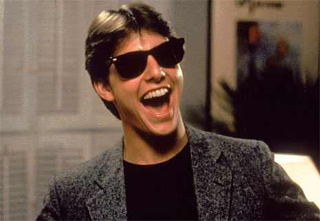 Risky Business Tom Cruise. tom cruise sunglasses risky