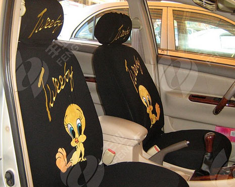 tweety bird car seat covers