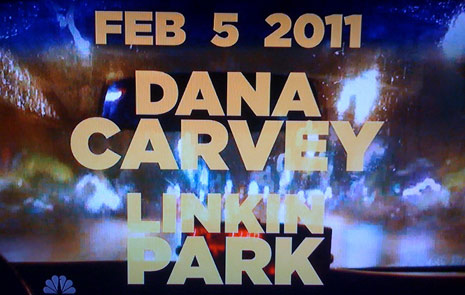 dana carvey and linkin park on saturday night live, snl february 5 2011