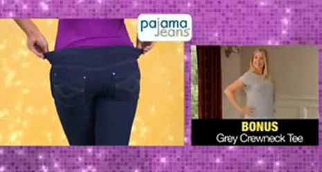 pajama jeans commercial, pajamajeans infomercial